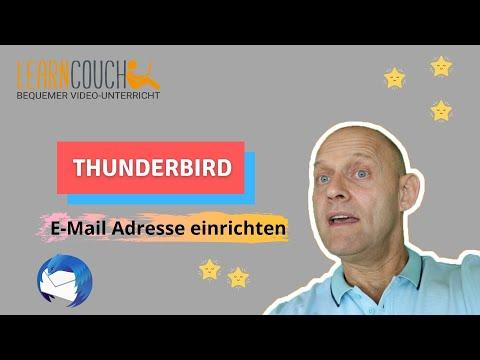 In Thunderbird ein E-Mail Konto plus Signatur einrichten, plus Anlage anhängen