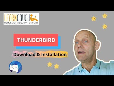 Thunderbird sicher downloaden und Installieren
